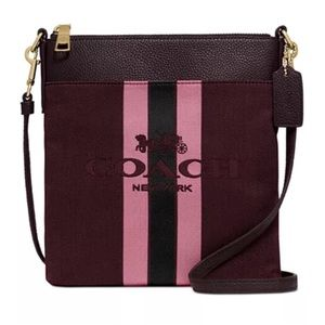 Coach Horse and Carriage Cross Body